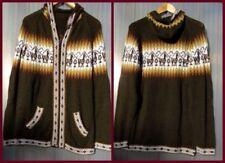 Taillenlange Damen-Pullover & -Strickware aus Wolle mit Reißverschluss