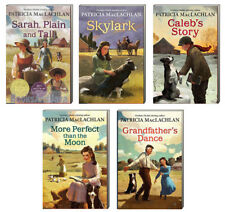 Sarah Plain and Tall,Skylark,Calebs Story +by Patricia MacLachlan (5 Paperbacks)