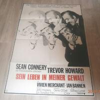 A1-Filmplakat   SEIN LEBEN IN MEINER GEWALT  SEAN CONNERY, TREVOR HOWARD