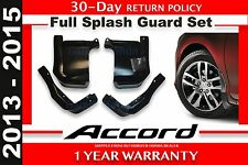 Genuine OEM Honda Accord 4DR Sedan Splash Guard Set 2013 - 2015 (08P00-T2A-101)