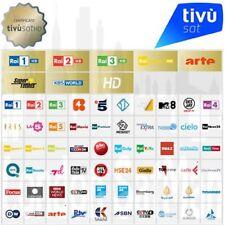 Tivusat Karte Original Aktiviert Nagravision 3 Italien Sender RAI 4K HDTV SAT