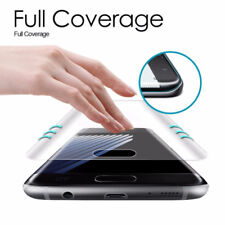 Clear Full Cover Curved 3D Tempered Glass Screen Protector For Samsung S6/7/8/9