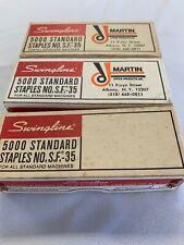 Lot Of 3 Swingline 5000 Standard Staples No SF 35