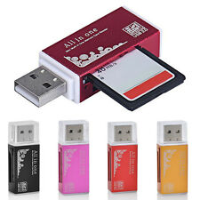 USB 2.0 All in1 Memory Card Reader Random For Micro SD SDHC TF M2 MMC MS PRO DUO