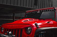 Jeep JK Wrangler 07~17 Avenger Style Steel Bonnet Front Hood Heat Reduction
