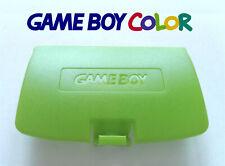 Cache Piles pour Game Boy Color NEUF couleur Vert clair / light green