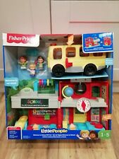 Fisher Price Little People Welcome To School Gift Set Kids Toy Game Laugh
