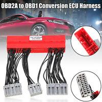 OBD2A zu OBD1 Konvertierung ECU Jumper Harness Adapter für Honda / Acura
