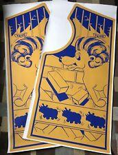 Zoo Keeper Side Art Arcade Artwork Decal Overlay Sticker Taito