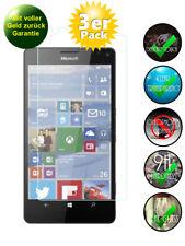 3x Microsoft Lumia 950 XL Panzerglas 9H Echtglas, Panzerfolie Panzerglasfolie