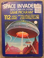 m Original Atari 2600 CX 2632 SPACE INVADERS Video Computer System Game Program