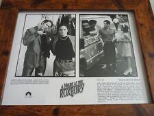 Encadré Original Qualité Frame LOBBY CARD Press Photo Une nuit au Roxbury va