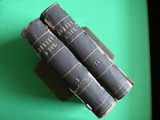 DOMBEY & SON by CHARLES DICKENS 1ST US EDITIONS (2 VOLUMES) 1846 & 1848 - 939 PG