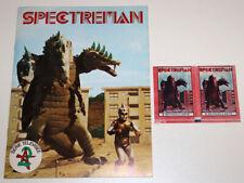 SPECTREMAN album d'images neuf + 2 pochettes