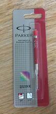 Parker Quink Gel Pen Refill - Red Medium