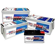80Ah - 280Ah Solar Batterie Versorgungsbatterie Wohnmobil ( 100 120 160 220 Ah )