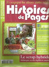 HISTOIRES DE PAGES N°18 91 PROJETS / LES AIMANTS / MINI-ALBUM DESTRUCTURE