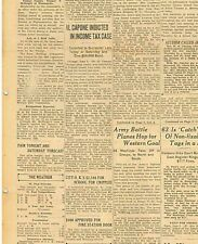 Al Capone indicted in Income Tax Case June 5 1931 Gangster Convicted 270745CQ B7