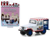 ICE CREAM 1975 Jeep DJ-5 Diecast Truck 1:64 Greenlight Hobby Exclusive 2.25 inch