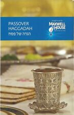 New Set Of 3 Matching Passover Haggadah Maxwell House English / Hebrew, 2018