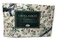 Laura Ashley Home Rubens Twin Fitted Sheet 200 Thread Count Vintage Floral
