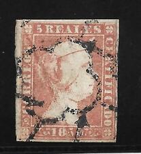 España. 5 Reales de Isabel II año 1850