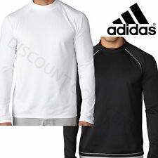 adidas Golf Long Sleeved Climawarm Thermal Turtleneck Shirt Base Layer Top White Ae9446 2xl