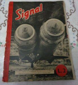 RIVISTA SIGNAL N°3 DEL 1° FEBBRAIO 1941 SECONDA GUERRA MONDIALE