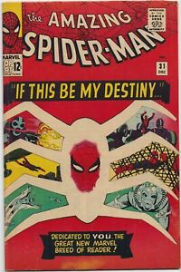 The Amazing Spider-Man #31  3.0  -KEY- 1st Gwen Stacy