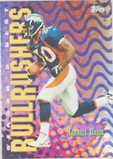 1999 Topps Season's Best #SB1 Terrell Davis refractor card, Denver Broncos HOF