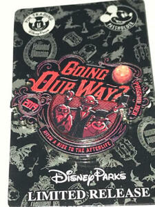 Disney  Haunted Mansion  GOING OUR WAY  AP Passholder Pin  2019  LR