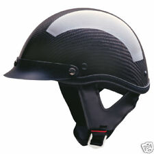 DOT Carbon Fiber Half Face helmet - size XL