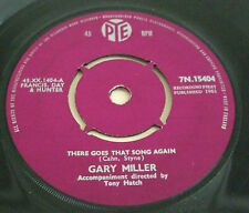 GARY MILLER 1961 UK 45 - THERE GOES THAT SONG AGAIN