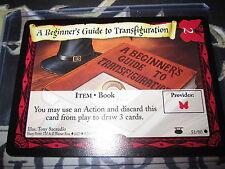 HARRY POTTER TCG A BEGINNER'S GUIDE TO TRANSFIGURATION 51/ 80 COM EN MINT NEUF