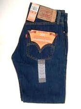 Levis Jeans 501-0115 Rinsed Indigo