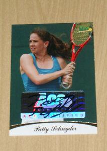 2010 Ace Tennis Patty Schnyder GOLD autograph 15/19