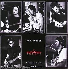 Matchbox Twenty 2000 Mad Season Original Black & White Promo Poster