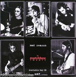 Matchbox 20 With Counting Crows Music POSTER Wall Decoration X-152