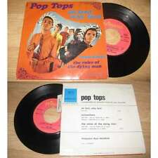 POP TOPS - Oh Lord, Why Lord Rare French EP Psych Pop 68 Avec Languette
