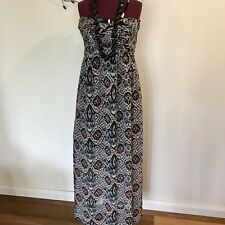 DOTTI Long Strapless Dress Size 10 (8-10) Full Length. Party Or Casual. Like New