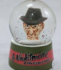 A Nightmare On Elm Street Freddy Kruger Mini Horror Snowglobe Water Globe 2020