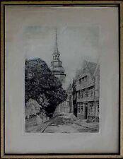 Gemälde Rahmen unbekannter Künstler, akad. Arbeit, Altstadt  um 1920 x 59-855 x
