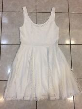 Aeropostale White Lace Dress Flare Dress Size M ***NWT***$49.50