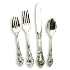 Eloquence by Lunt Sterling Silver individual 4 Piece DINNER size Place Setting