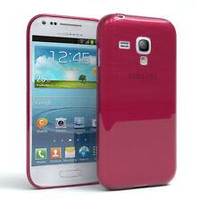 Schutz Hülle für Samsung Galaxy S3 Mini Brushed Cover Handy Case Pink