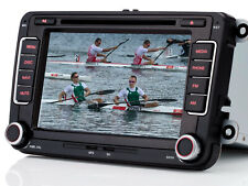 "7"" HD Autoradio Navi GPS DVD USB Bluetooth Für VW Golf 5 6 Passat EOS Seat Skoda"