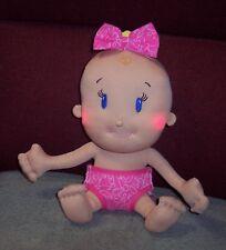 Cute Goldberger Plush Soft Lovey Interactive Baby Doll Peek A Boo I Love You GUC