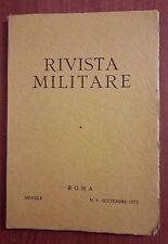 R33> Rivista Militare n.9 Roma settembre 1972