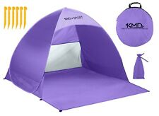 Pop Up Beach Tent Portable Sun Shade Shelter Outdoor Camping Fish Canopy Purple