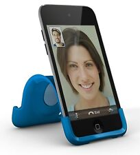 XtremeMac iPod Touch 4G Snap flexible Stand  Blue for Apple Ipod touch 4th Gen